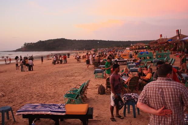 пляж Бага Гоа