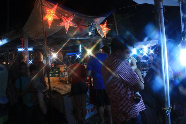 ночной маркет в Баге