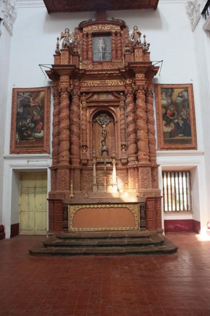 Старый Гоа церковь святого Каэтана St.Cajetan
