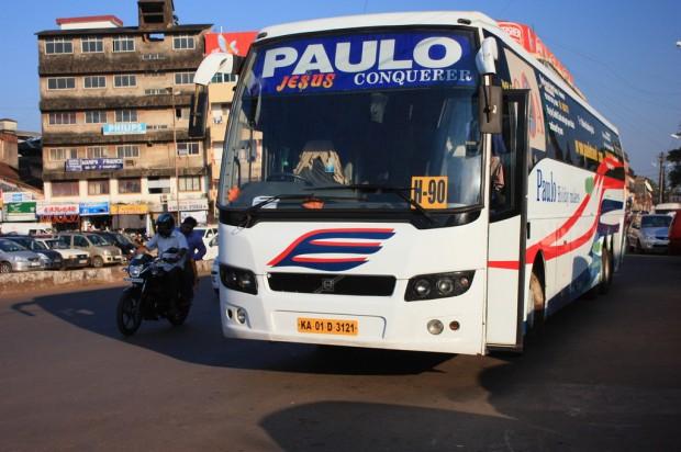 автобус Пауло Тревелс PauloTravels