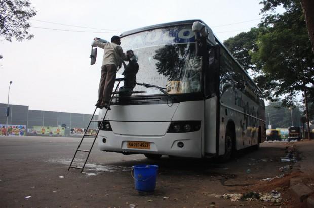автобус Пауло Тревелс PauloTravels Гоа Ченнай