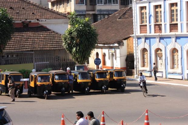 Гоа, рикши, фото