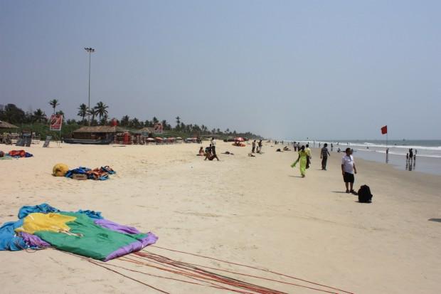 Гоа, пляжи, Колва, Colva Beach, фото