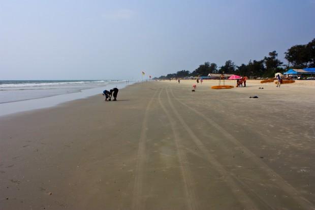 Пляж Варка в Гоа