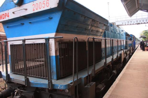 Гоа-Бомбей, поезд, фото