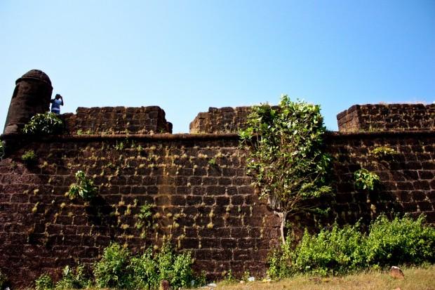 Чапора Форт в Гоа