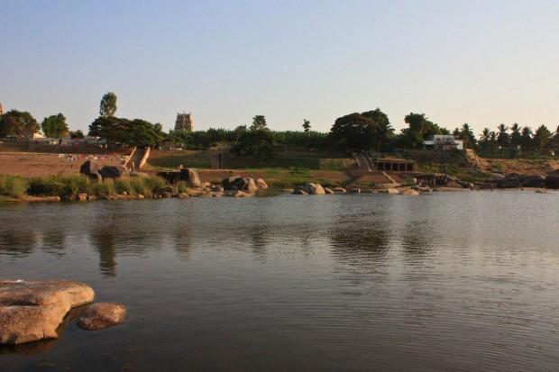 Анегонди и Хануман Темпл в Хампи