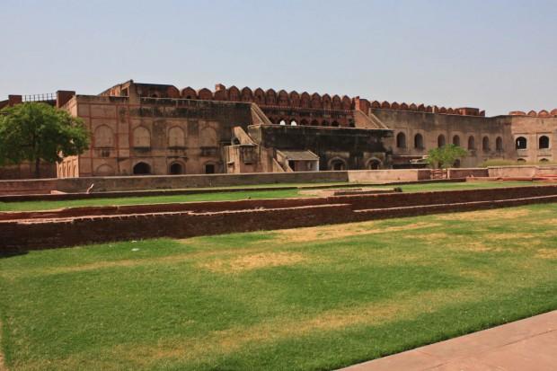 Красный форт (Лал-Кила) в Агре