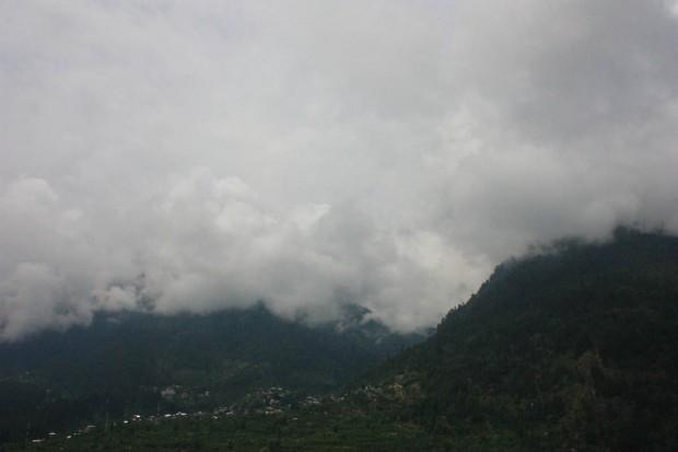 Деревня Вашишт в штате Химачал-Прадеш на севере Индии