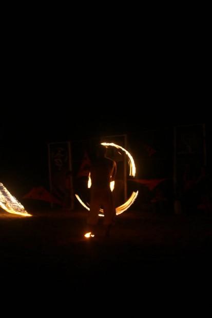 Fire Festival в Гоа 2012