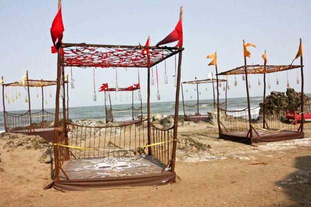 Съемки клипа на пляже Вагатор