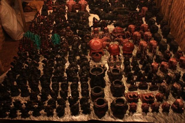 Ночной рынок в Арпоре в штате Гоа