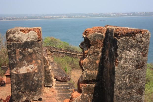 Форт Агуада в Гоа