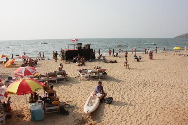 Джаз-фестиваль в Гоа в феврале 2013